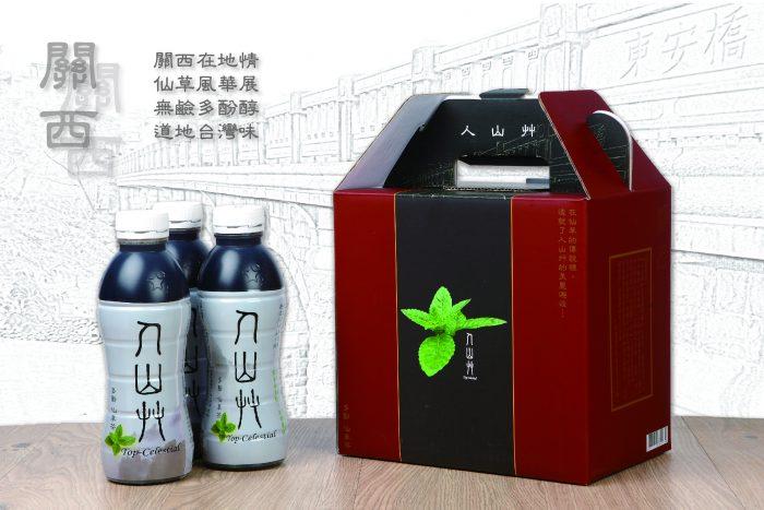 人山艸仙草茶禮盒-東安橋